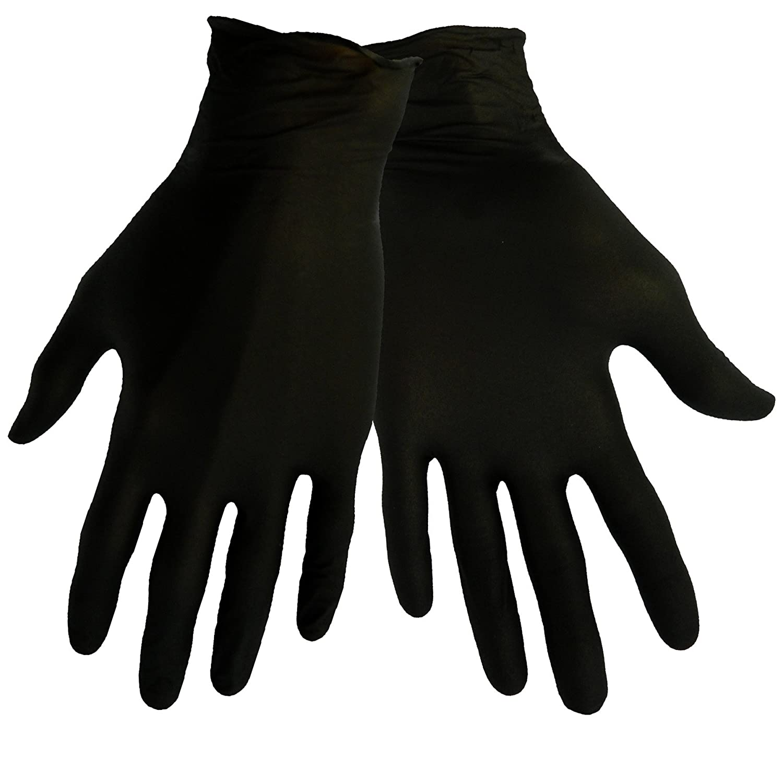 Global Glove 705BPF Nitrile Glove, Disposable, Powder Free, 5 mils Thick, Small, Black (Case of 500) by Global Glove B00AJ1UIHU