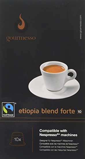 Gourmesso - cápsulas de café para cafetera Nespresso ...
