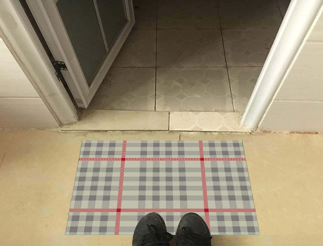 DayliPillow Welcome Doormat Did You Call First Front Door Mat Home Decor Indoor Mats for Entry Floor Mats