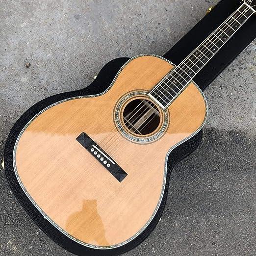 Florwesr Estilo Ooo 39 Pulgadas Clásico De La Guitarra Acústica ...