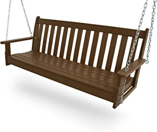"""product image for POLYWOOD GNS60TE Vineyard 60"""" Swing, Teak"""