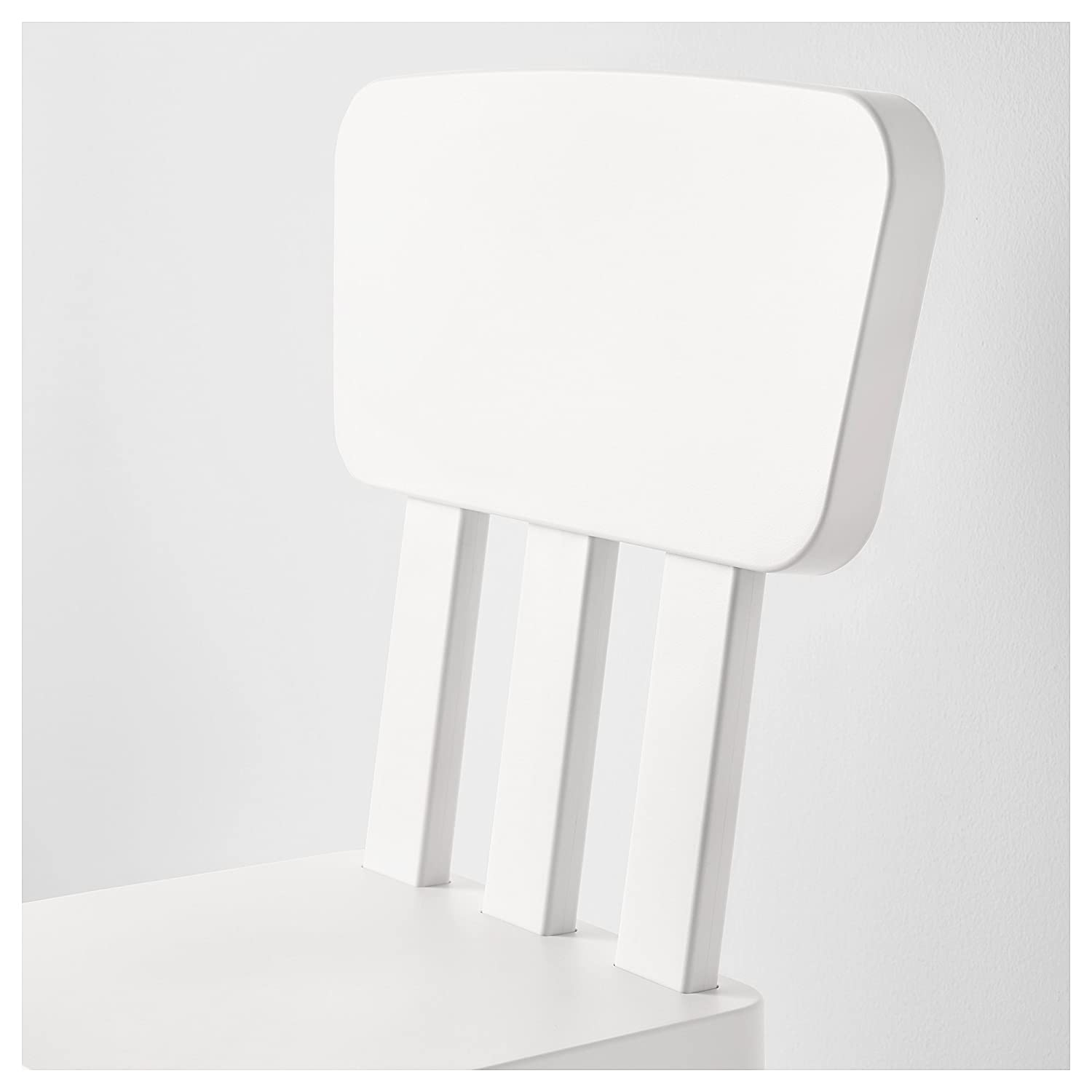 IKEA Mammut 403.653.71 High Back Plastic Childrens Chair Suitable for Indoor//Outdoor Use White /…
