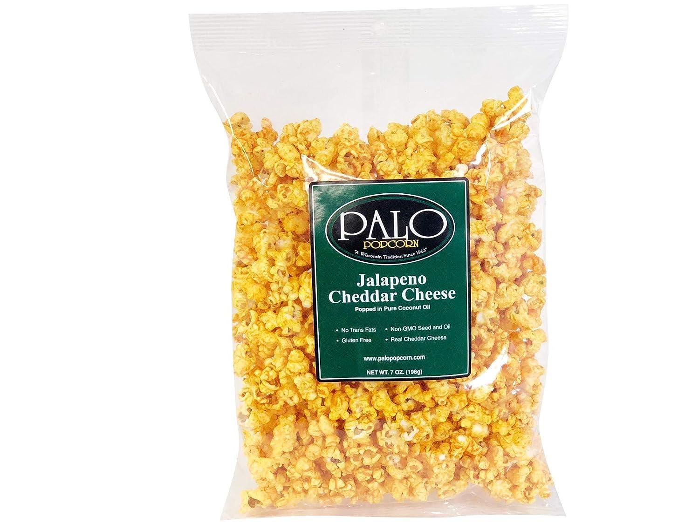 Palo Popcorn Jalapeno Cheddar Popcorn - Bolso (6 unidades ...