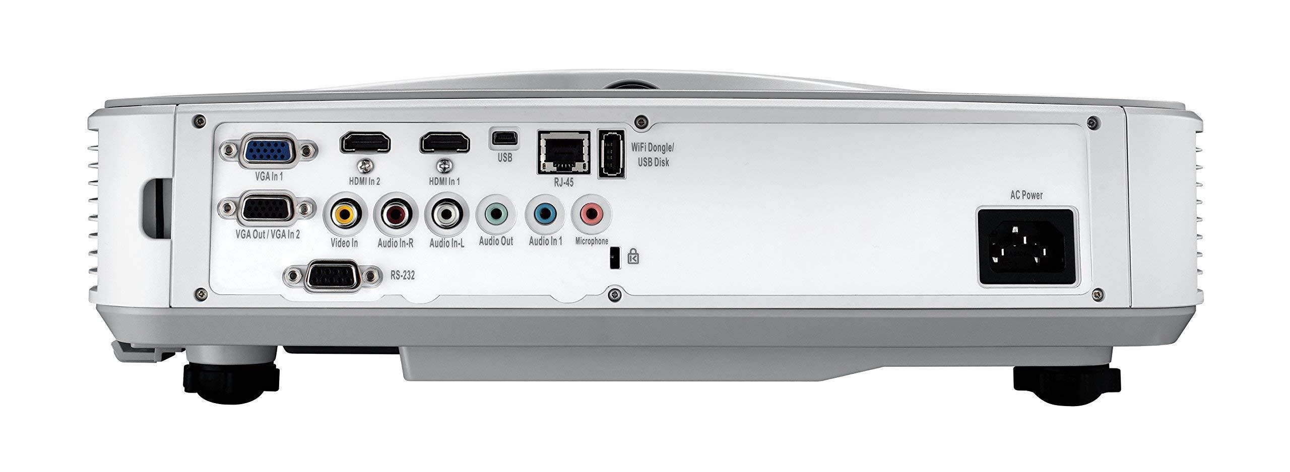Optoma ZW300UST WXGA 3200 Lumens 3D DLP Ultra Short Throw Laser Projector (Renewed) by Optoma (Image #7)