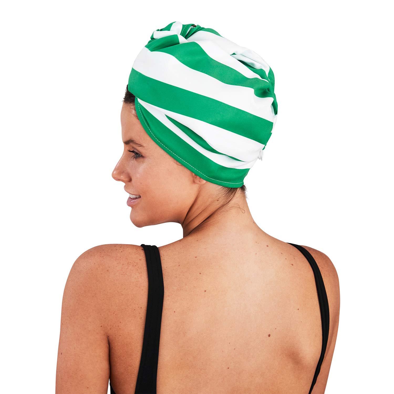 Dock & Bay Hair Wrap for Women Towel - Bondi Blue, One Size - for drying long towel
