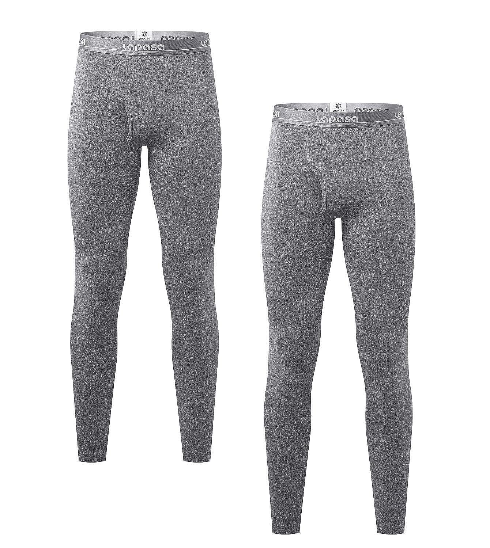 LAPASA Pantalón Térmico Pack de 2 para Hombre (Malla térmica). -Brushed Back Fabric Technique- Calças térmicas M10: Amazon.es: Ropa y accesorios