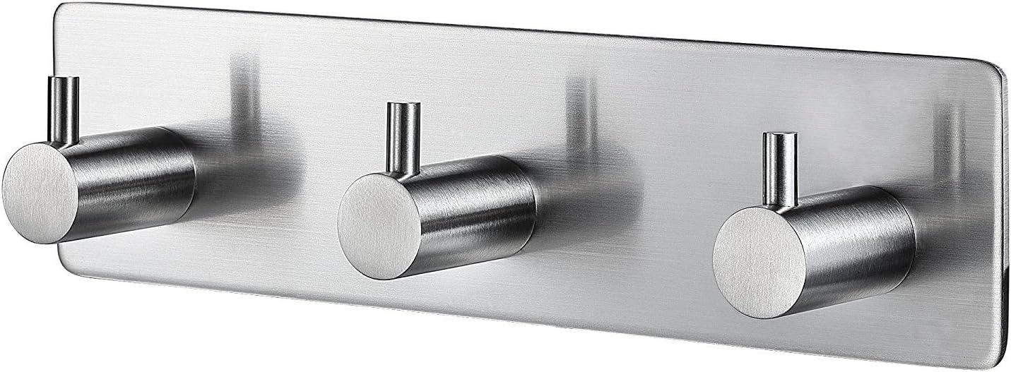 12x Strong Self Adhesive Hooks Kitchen Bathroom Stick On Wall Door Hanger Lot