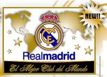 Real Madrid Bandera Mejor Club del Mundo. 150 x 100 cm. Producto Oficial.: Amazon.es: Deportes y aire libre