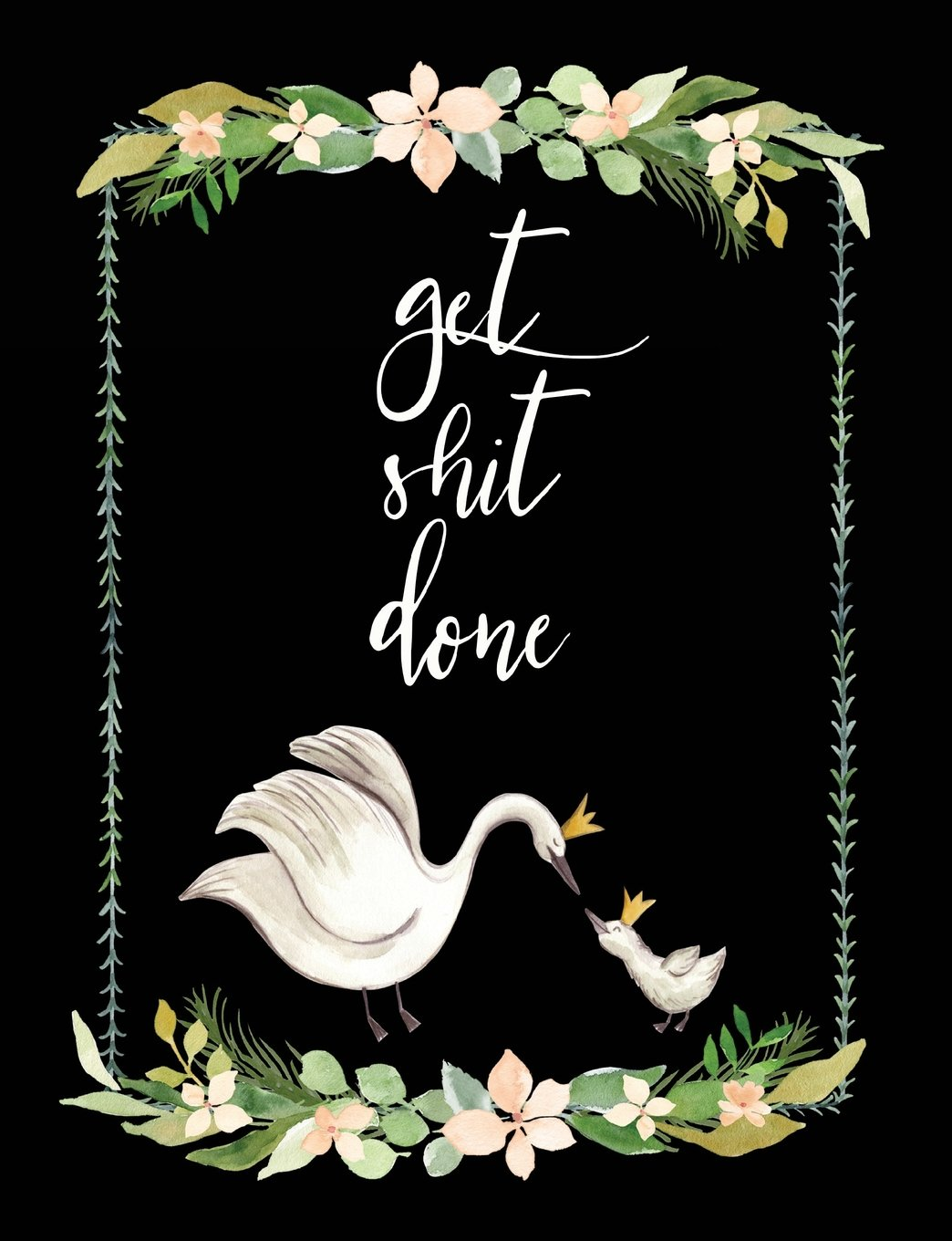 Read Online Get Shit Done: Composition Notebook Journal Blank Wide-Ruled Lined Paper 202 Pages 7.44x9.69 Gift pdf