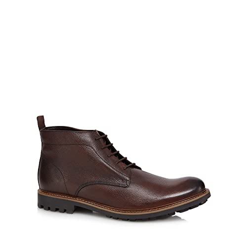 Debenhams Rjr.John Rocha Men Brown Leather Chukka Boots 6
