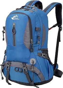 Free Knight - Mochila al Aire Libre de Gran Capacidad Mochila Impermeable de Senderismo Camping Paquete del Alpinismo Escalada Marcha Trekking 30 x 52 ...