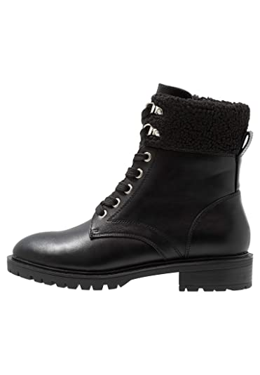 7c9332f205a Even ODD Women s Military Style Lace-Up Boots - Warm Chelsea Boots with  Hook Laces in