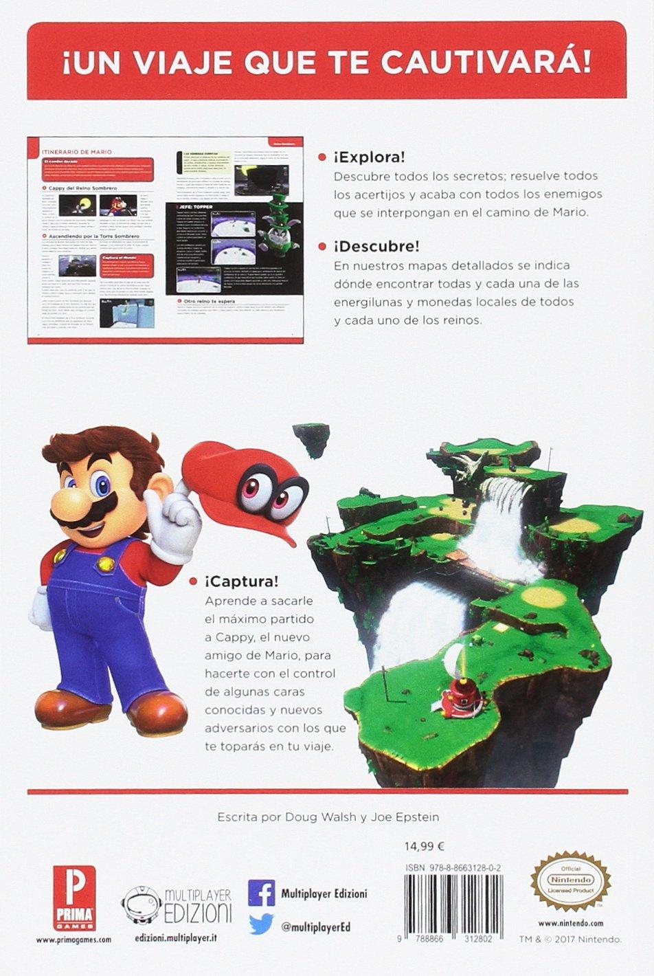 Guía Super Mario Odyssey: Amazon.es: Vv.Aa, Vv.Aa: Libros