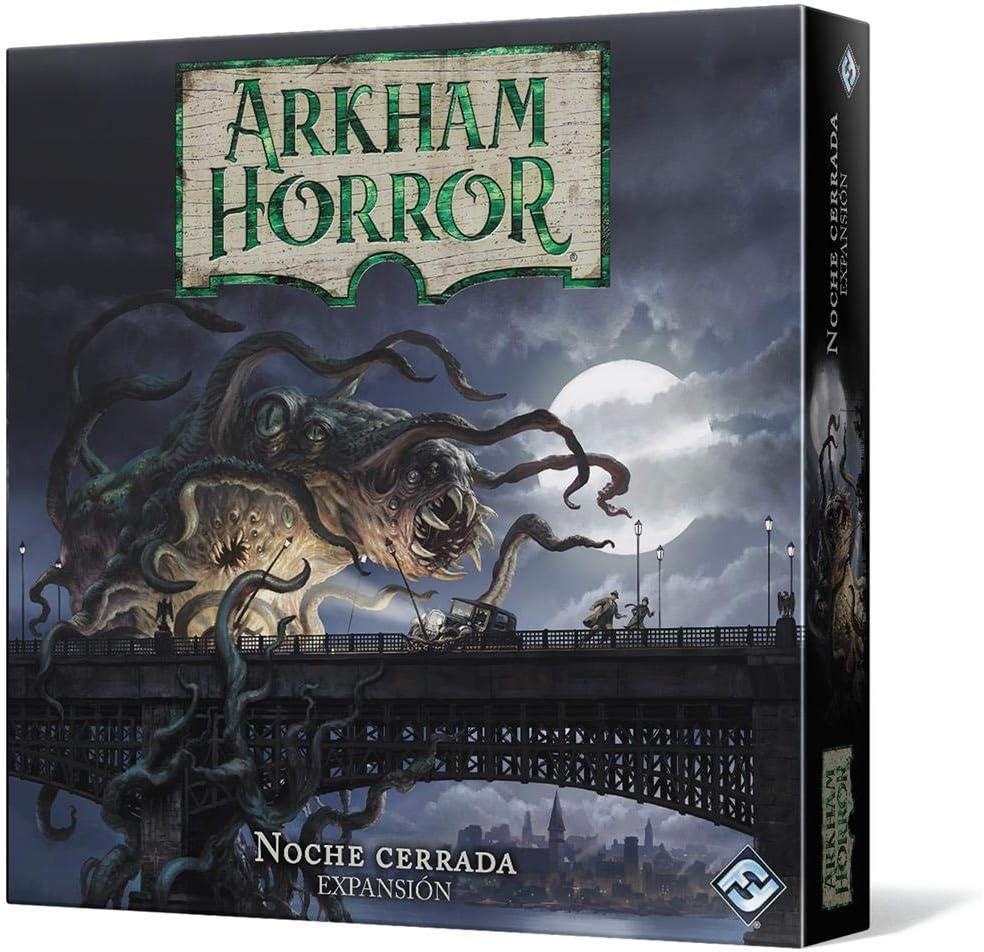 Fantasy Flight Games- Arkham Horror - Noche Cerrada, Color (AHB04ES)