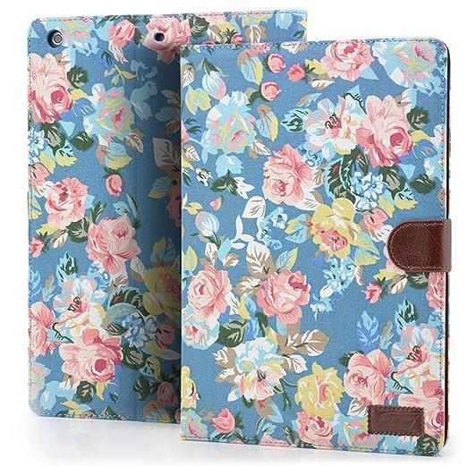 93 opinioni per Custodia per iPad Mini 1/2/3, DEENOR Colorful Pattern Flip Case PU Leather Cover
