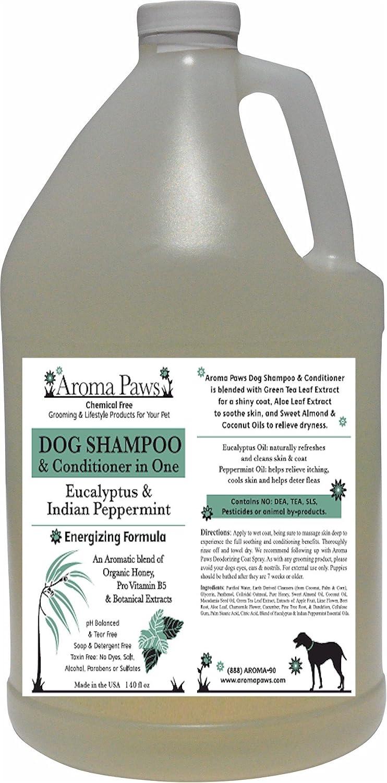 Aroma Paws Shampoo, Eucalytpus Peppermint