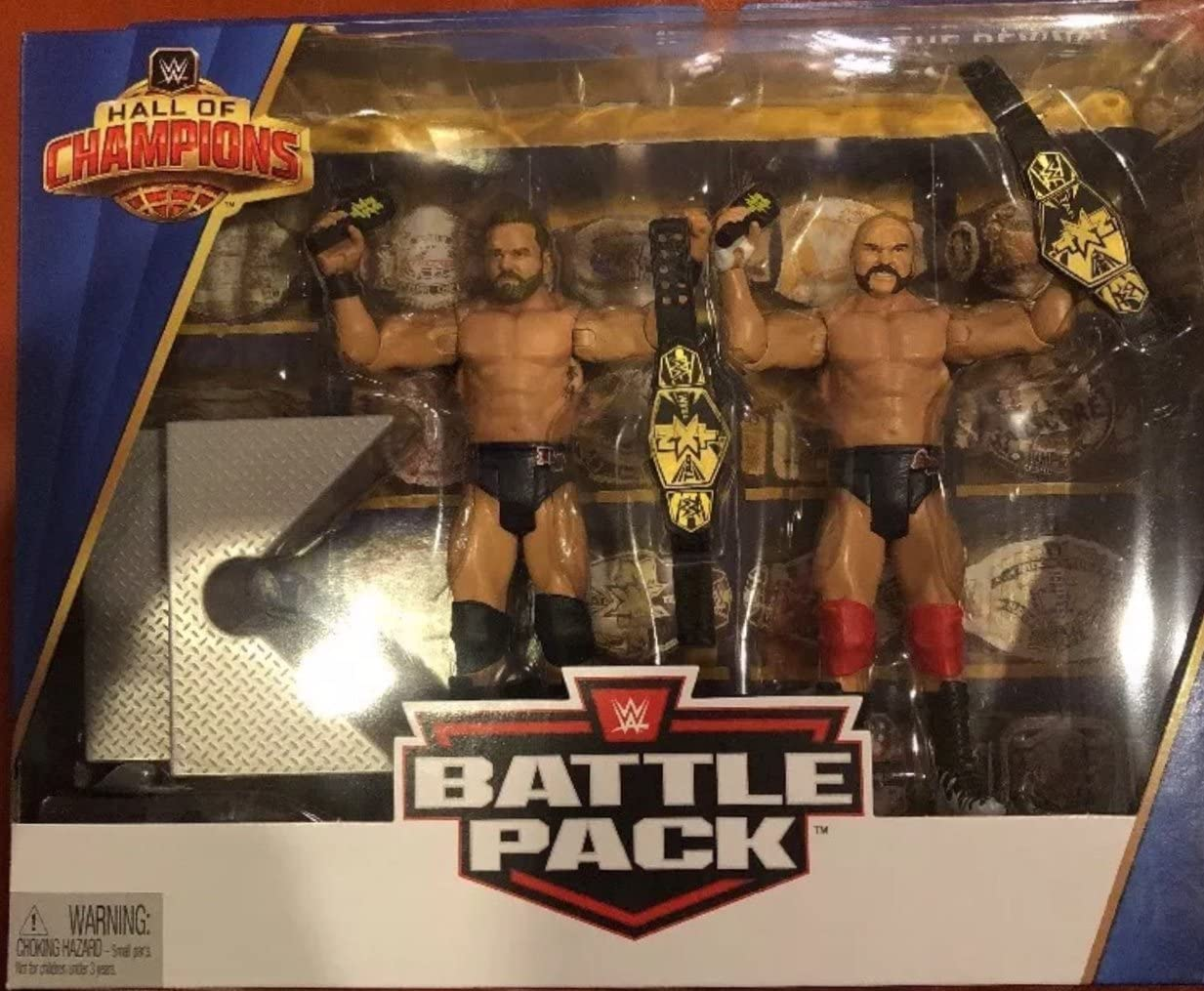 WWE Wrestling Hall of Champions The Revival Figures 2-Pack Dash Wilder /& Dawson