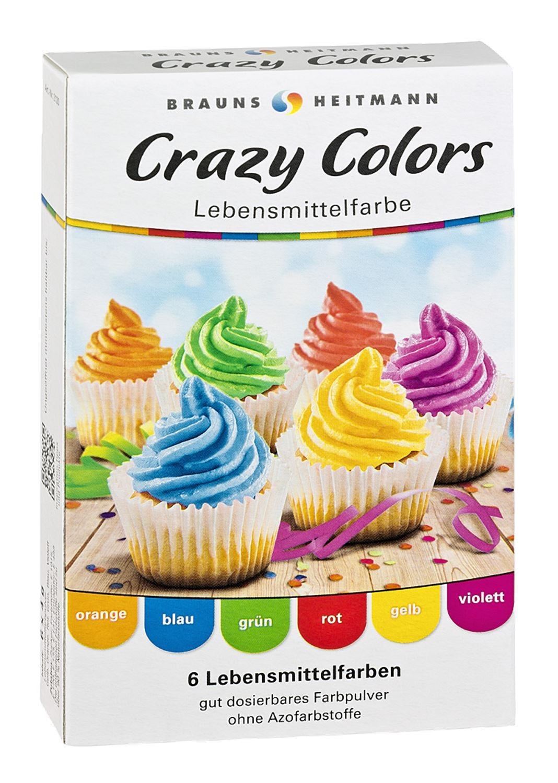 Brauns Heitmann Crazy Colors Farbpulver (8 x 4g Special Edition ...