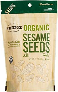 product image for Woodstock Farms Organic Sesame Seeds,12 Ounce
