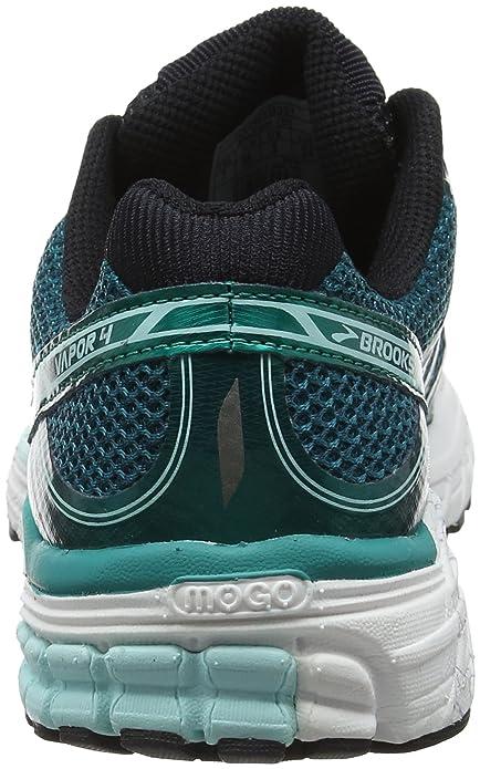 Brooks Vapor 4, Chaussures de Running Femme, Vert (Green/Mint/Black 1b351), 38.5 EU
