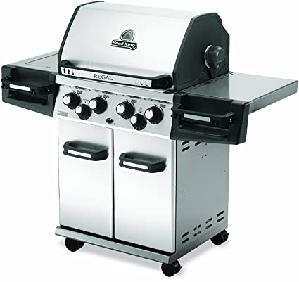 Amazon Com Broil King 976584 Regal 490 Pro Liquid Propane Gas Grill