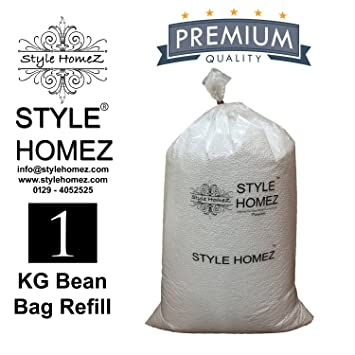 Style Homez 1 Kg Premium Bean Bag Refill for Bean Bags