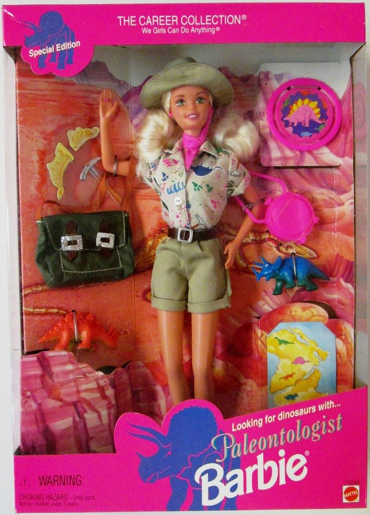 Barbie Doll Paleontologist Special Edition Blond  The Career Collection
