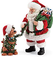 Department 56 Possible Dreams Santa Scooby Doo Ruh Roh Figurine Set, 10.5 Inch, Multicolor