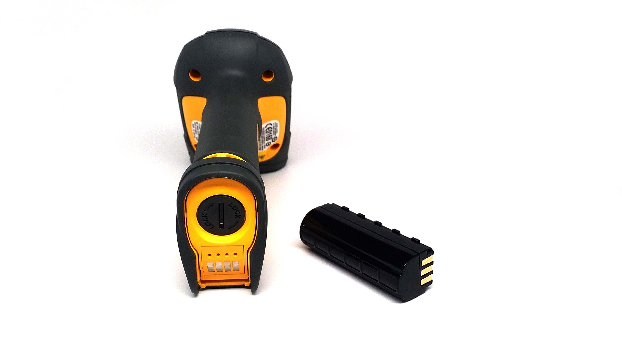 Zebra/Motorola Symbol LS3578-FZBU0100UR, Rugged, cordless scanner with integrated Bluetooth, Includes Cradle and USB Cord by Zebra/Motorola Symbol (Image #5)