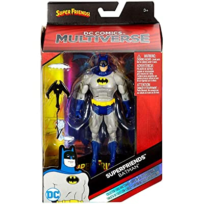 DC Comics Multiverse DC Superfriends Batman Exclusive Action Figure 6 Inches: Toys & Games