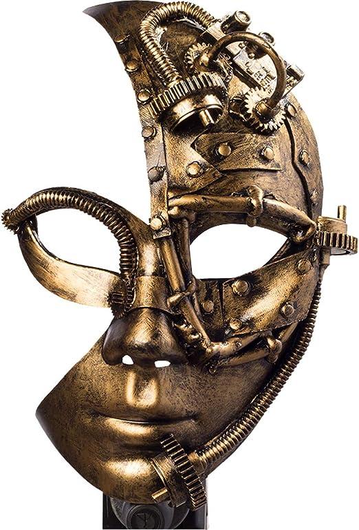 Máscara Gótica Estilo Steampunk Amakando