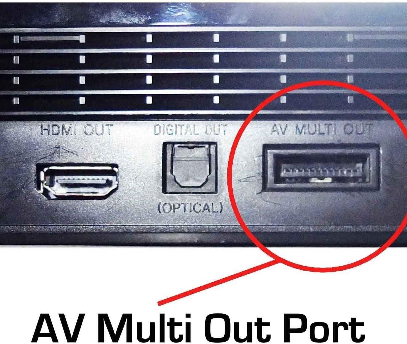 Gam3Gear Mcbazel RGB Scart Cable Cable AV con Caja de Color para PS3 / PS2 / PSOne PAL (NO para HDMI): Amazon.es: Electrónica