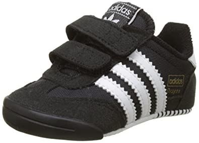 half off 284b6 9b5b3 adidas Unisex Babies  Dragon L2w Crib Low-Top Sneakers, Footwear White core