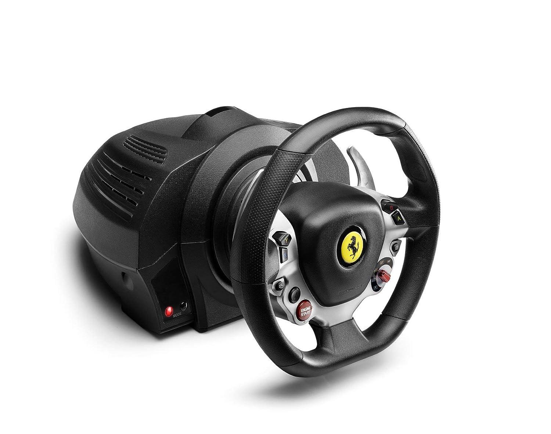 Thrustmaster Tx Rennrad Ferrari 458 Italia Edition Xbox One Pc Erneuert Amazon De Games