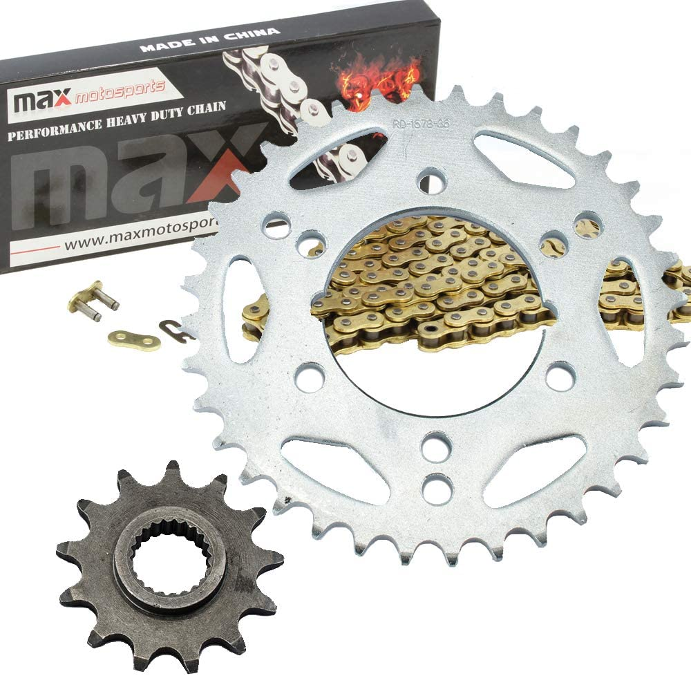 Gold Standard Chain and Sprocket Kit for Polaris 400 Scrambler 2x4 4x4 2000 2001 2002