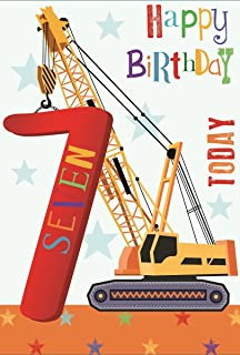 Age 7 Boy Birthday Card