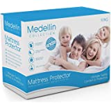 Medellin Collection Premium Hypoallergenic Waterproof King Mattress Protector - Vinyl Free