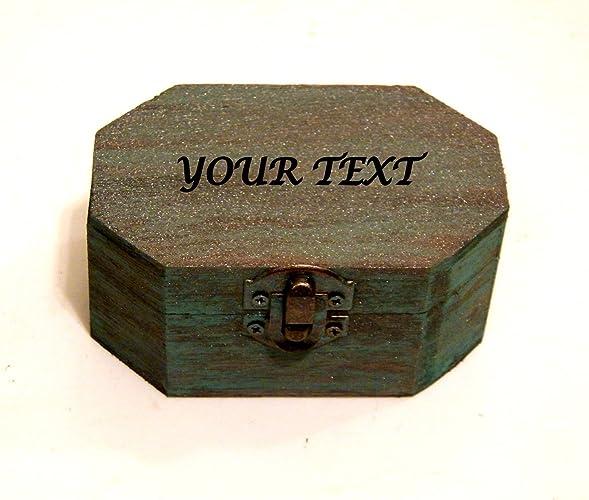 Caja de Recuerdos de Chica, Caja de Deseos, Joyero, Caja de Madera Grabada