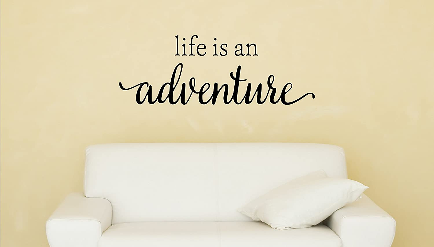 Amazon.com: Davis Instruments Life Is An Adventure Wall Decal: Home ...