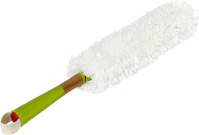 Full Circle Dust Whisperer Washable Microfiber Duster, Green