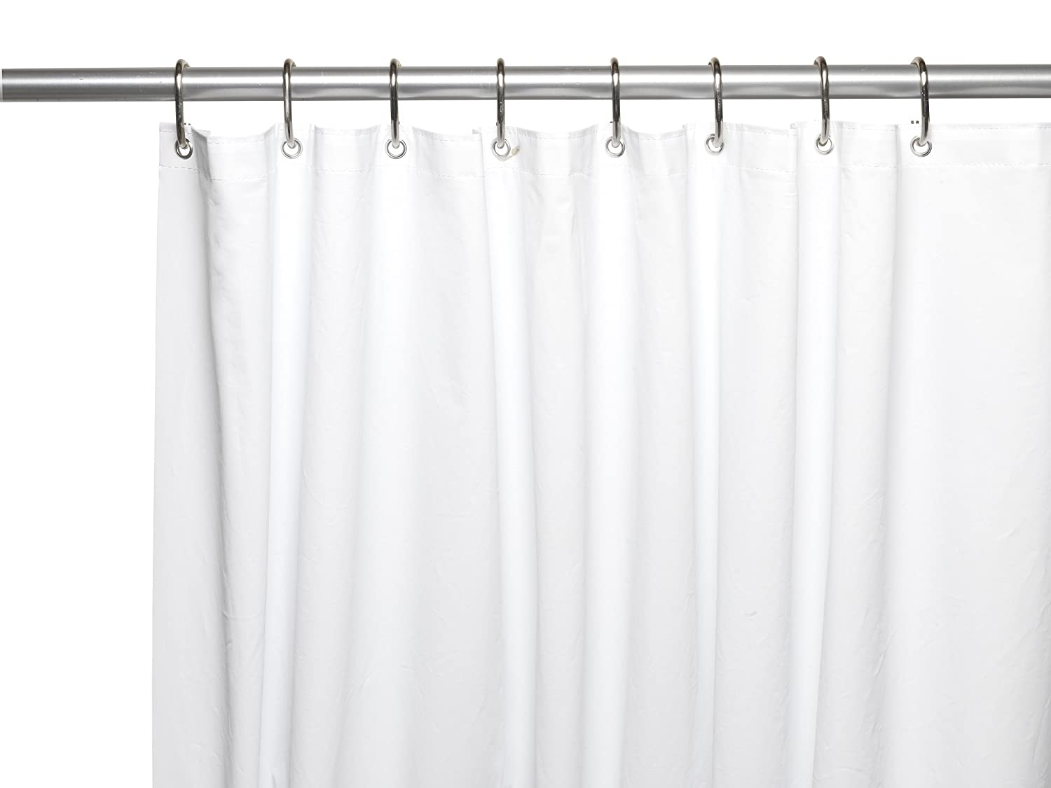 Amazon Ben Jonah Extra Long And Heavy 10 Gauge PEVA Non Toxic Shower Curtain Liner With Metal Grommets 72 X 84 Super Clear Home Kitchen