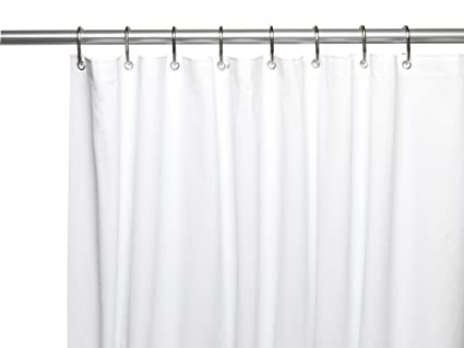Royal Bath Extra Long And Heavy 10 Gauge PEVA Non Toxic Shower Curtain Liner With