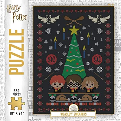 Harry Potter Holiday Sweater 500Piece Premium Puzzle   Official Harry Potter Merchandise   Jigsaw Puzzles: Toys & Games