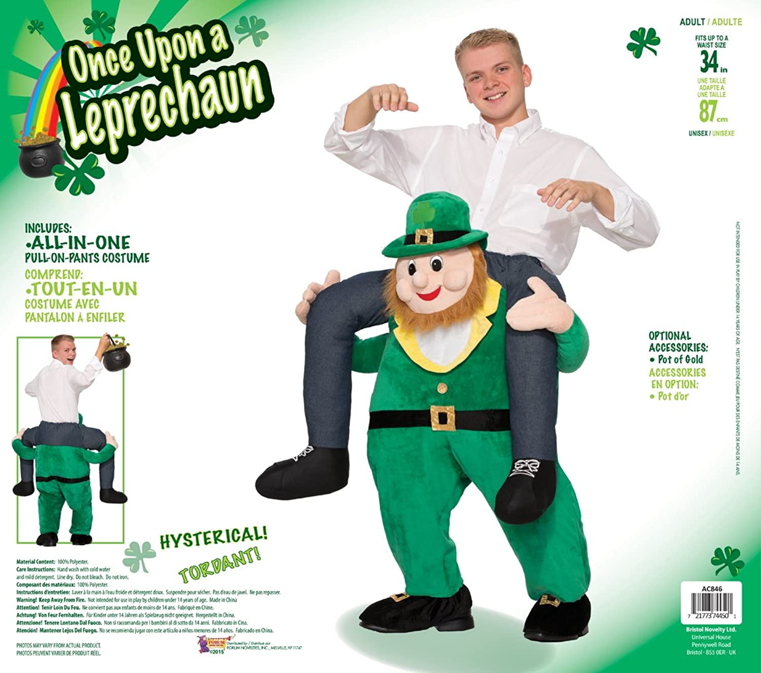 Amazon forum novelties mens once upon a leprechaun costume amazon forum novelties mens once upon a leprechaun costume green standard clothing solutioingenieria Choice Image