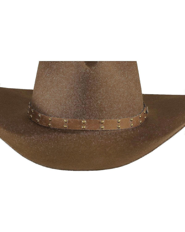 8e1884d64655c Stetson Men s 4X Seminole Gus Buffalo Felt Cowboy Hat at Amazon Men s  Clothing store