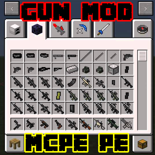 Gun  Weapon Mods Pro Edition For Mcpe
