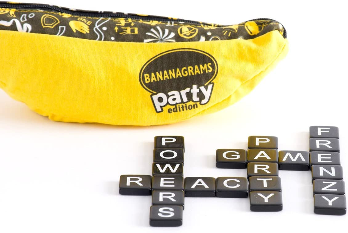 Bananagrams Game Frenzied word building fun for all the family