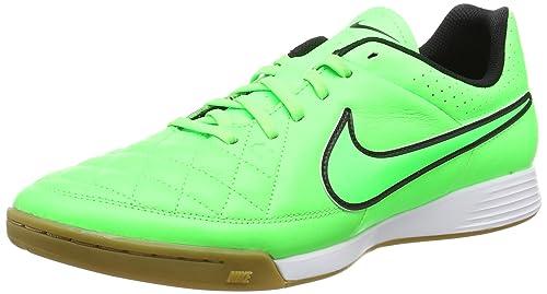 7ec083dae Nike Tiempo Genio Leather IC Indoor Soccer Shoe (Green Strike) Sz. 15