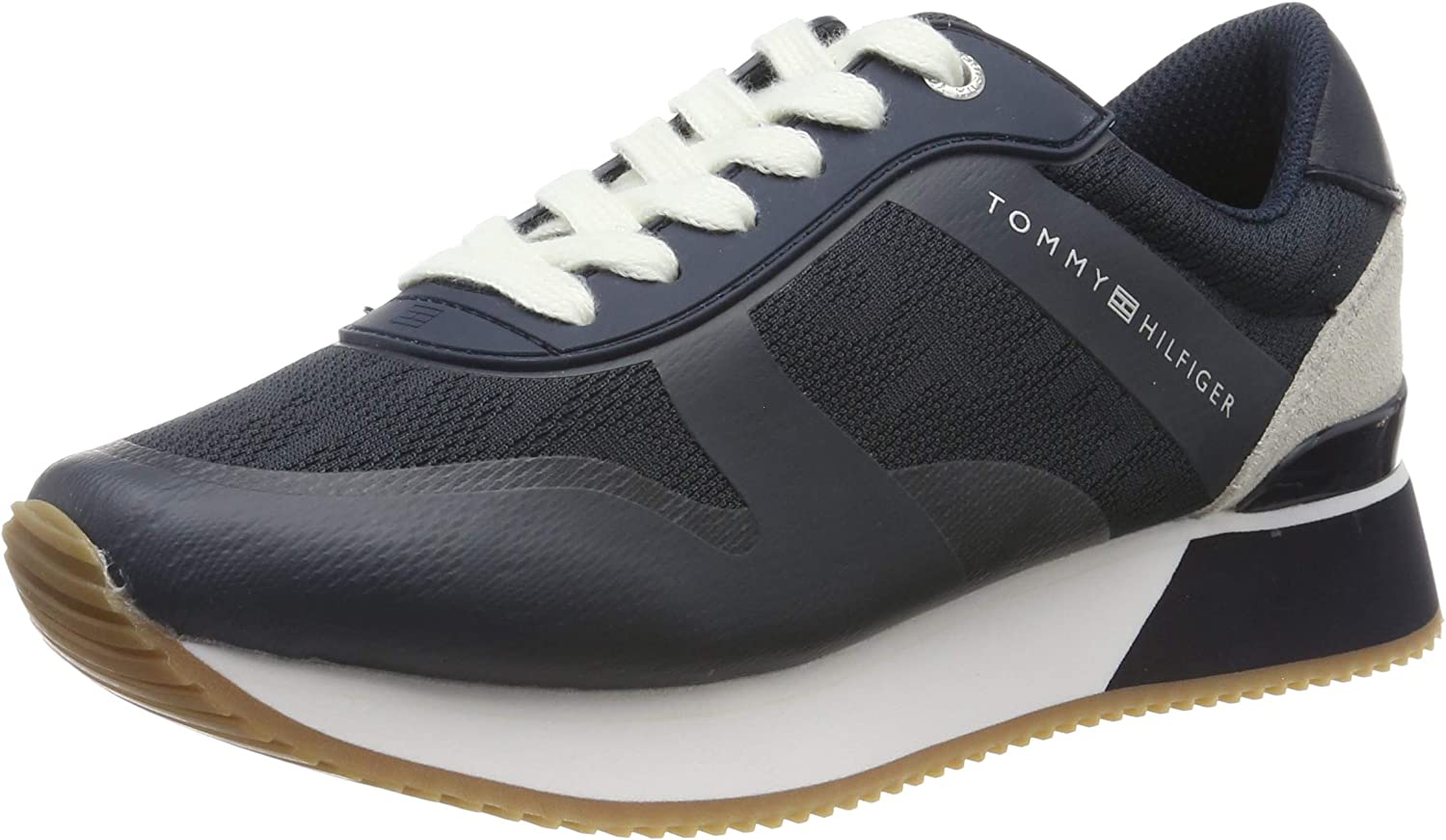 Tommy Hilfiger Tommy Jacquard City Sneaker, Zapatillas para Mujer