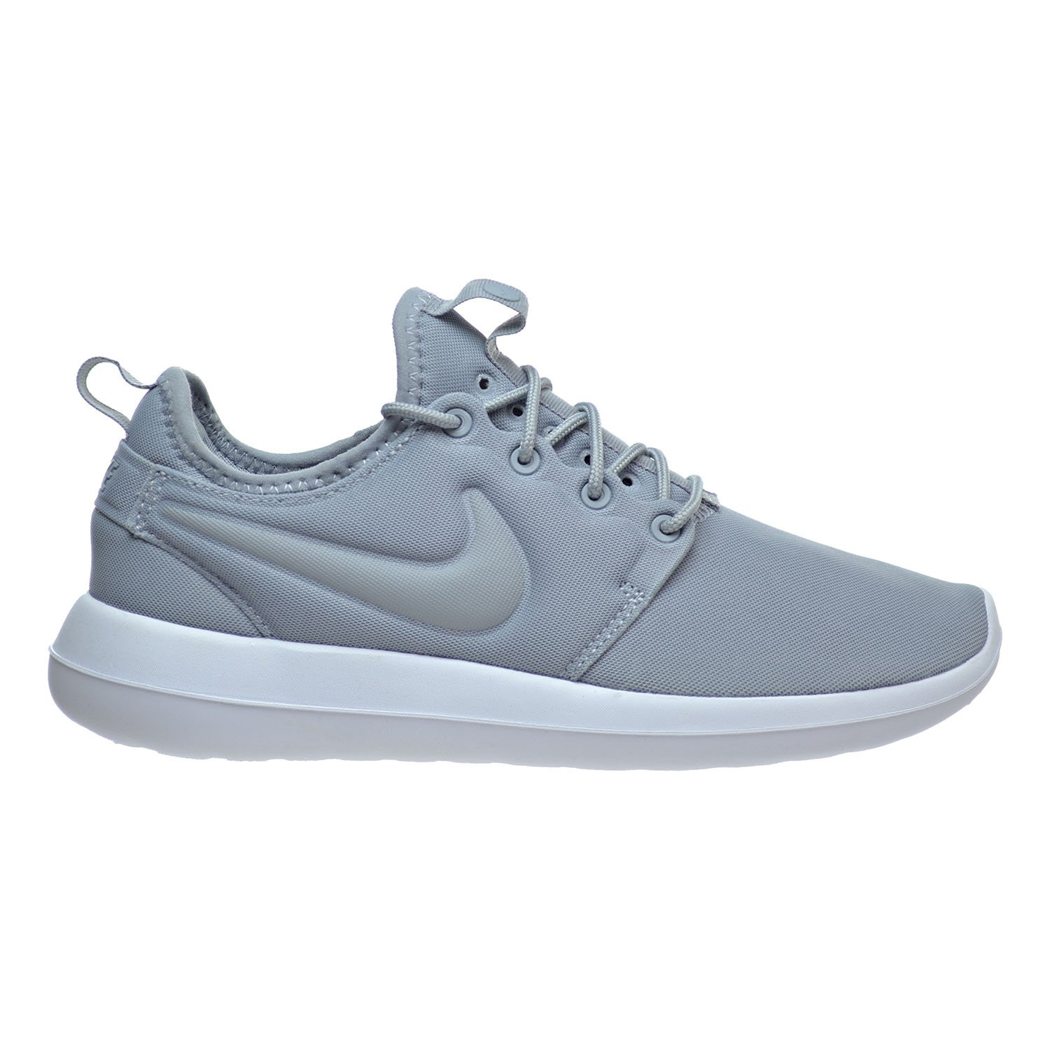 NIKE Roshe Two Women's Shoes Wolf Grey/Wolf Grey 844931-001 (10.5 B(M) US) by NIKE